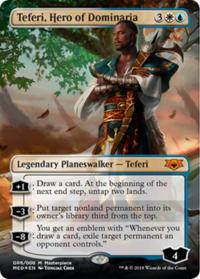 magic the gathering guilds of ravnica mythical teferi hero of dominaria
