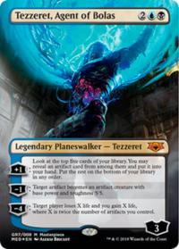 magic the gathering guilds of ravnica mythical tezzeret agent of bolas