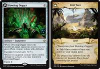 magic the gathering ixalan dowsing dagger lost vale 235 279 foil