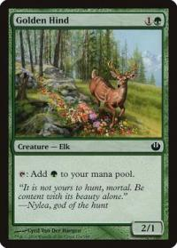 magic the gathering journey into nyx goldenhide ox 125 165