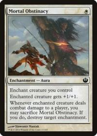 magic the gathering journey into nyx mortal obstinacy 17 165