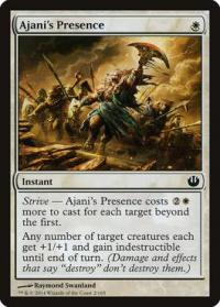 magic the gathering journey into nyx ajani s presence 2 165
