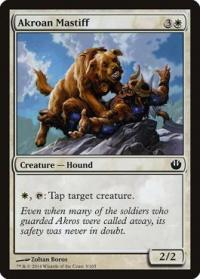 magic the gathering journey into nyx akroan mastiff 3 165