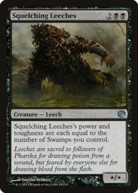 magic the gathering journey into nyx squelching leeches 84 165