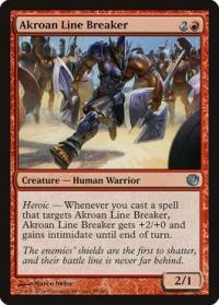 magic the gathering journey into nyx akroan line breaker 88 165