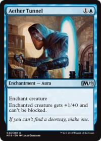 magic the gathering magic 2019 m19 aether tunnel 043 280