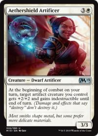 magic the gathering magic 2019 m19 aethershield artificer 002 280