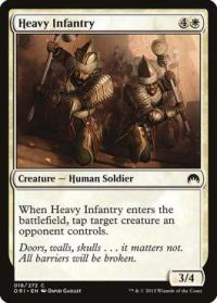 magic the gathering magic origins heavy infantry 18 272