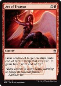 magic the gathering masters 25 act of treason 118 249