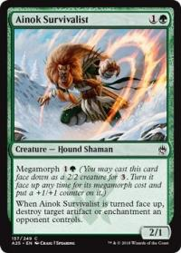 magic the gathering masters 25 ainok survivalist 157 249