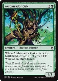magic the gathering masters 25 ambassador oak 158 249