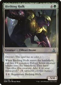 magic the gathering oath of the gatewatch birthing hulk 121 184