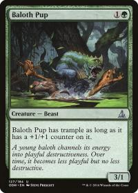 magic the gathering oath of the gatewatch baloth pup 127 184