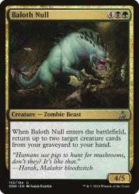 magic the gathering oath of the gatewatch baloth null 152 184