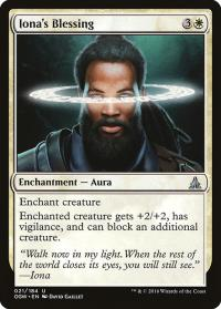 magic the gathering oath of the gatewatch iona s blessing 21 184 foil
