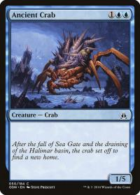 magic the gathering oath of the gatewatch ancient crab 50 184