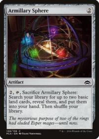 magic the gathering planechase anthology armillary sphere 108 156