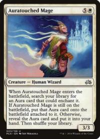 magic the gathering planechase anthology auratouched mage 3 156