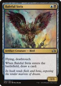 magic the gathering planechase anthology baleful strix 82 156