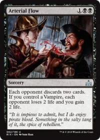 magic the gathering rivals of ixalan arterial flow 62 196