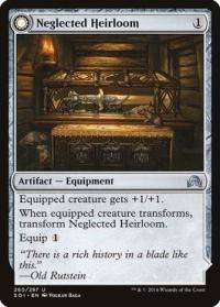 magic the gathering shadows over innistrad neglected heirloom ashmouth blade 260 297