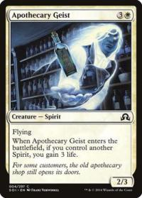 magic the gathering shadows over innistrad apothecary geist foil