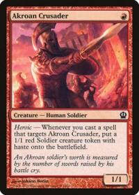 magic the gathering theros akroan crusader 111 249
