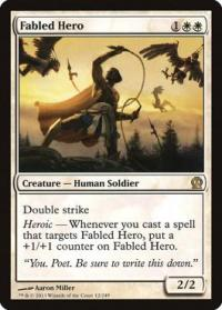 magic the gathering theros fabled hero 12 249