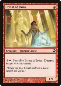 magic the gathering theros priest of iroas 134 249