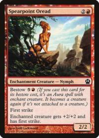 magic the gathering theros spearpoint oread 141 249