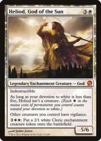 magic the gathering theros heliod god of the sun 17 249