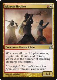 magic the gathering theros akroan hoplite 185 249