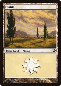 magic the gathering theros plains 233 249
