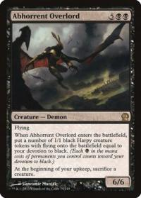 magic the gathering theros abhorrent overlord 75 249
