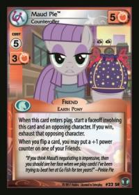 my little pony defenders of equestria maud pie counteroffer