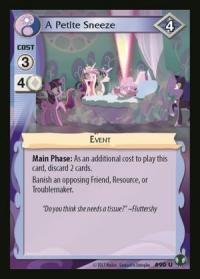 my little pony defenders of equestria a petite sneeze