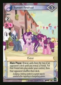 my little pony defenders of equestria sunset festival