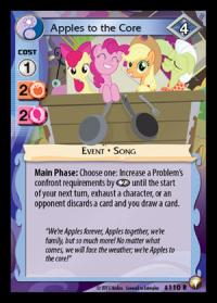 my little pony equestrian odysseys apples to the core