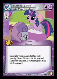 my little pony equestrian odysseys twilight sparkle cutie mark consultant