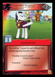 my little pony friends forever chancellor neighsay traditionalist 117