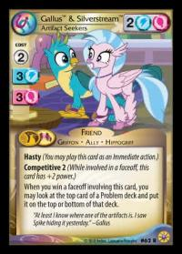 my little pony friends forever gallus silverstream artifact seekers 62