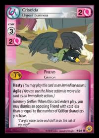 my little pony friends forever griselda urgent business 26