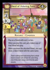 my little pony friends forever herd of adoring fans 105