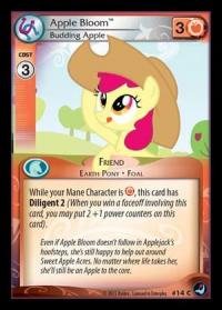 my little pony high magic apple bloom budding apple