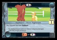 my little pony high magic applejack s worst nightmare