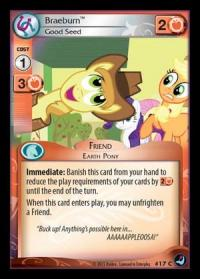 my little pony high magic braeburn good seed