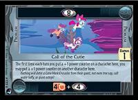 my little pony high magic call of the cutie