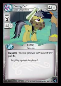 my little pony high magic daring do well disguised