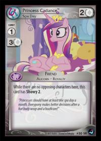 my little pony high magic princess cadance spa day