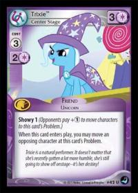 my little pony high magic trixie center stage